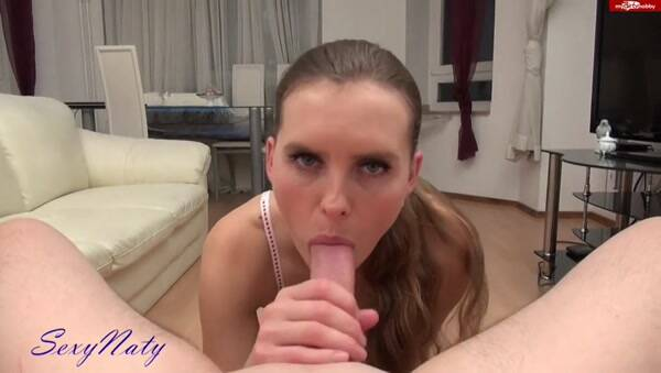 Nataly - Schwanzgeile Mundfotze real POV (Crazy Dirty Sex) [SD, 480p]