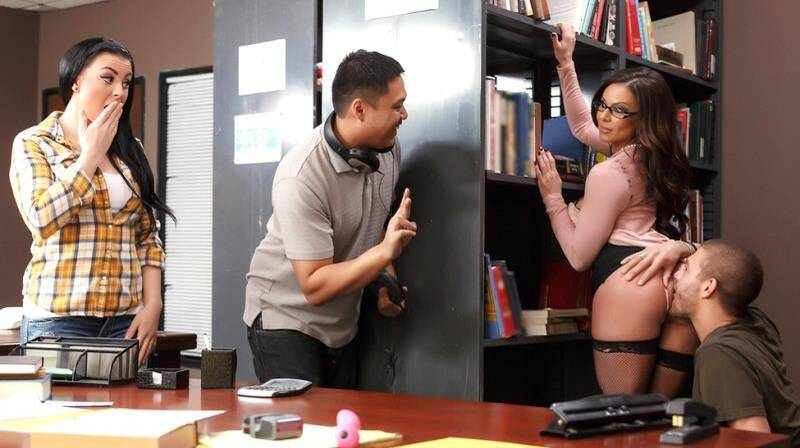 BigTitsAtSchool - Kendra Lust - Librarian Needs A Licking [2015 SD]