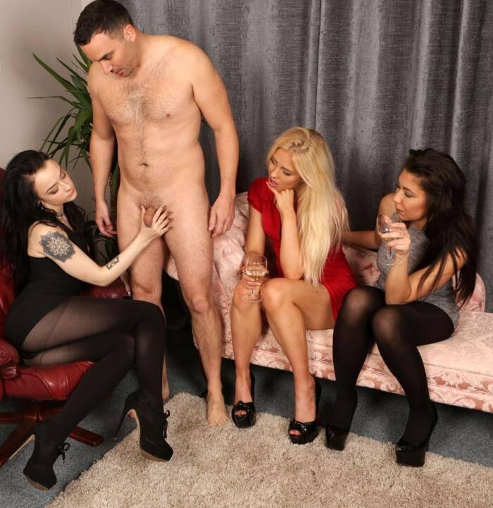 PureCFNM.com - Alessa Savage, Kirsty Travis, Louisa Moon - More Drinks Please [FullHD 1080p]