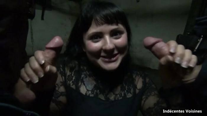 Romane, 23 ans, baisee dans le bureau de son pere au garage ! [IV] 360p