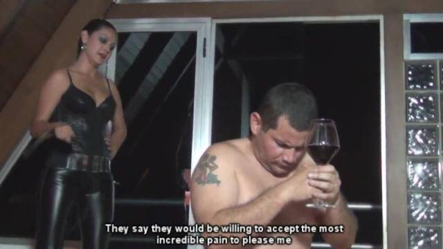 Clips4sale - Pain tribute for a leather goddess by diosa [HD, 720p]