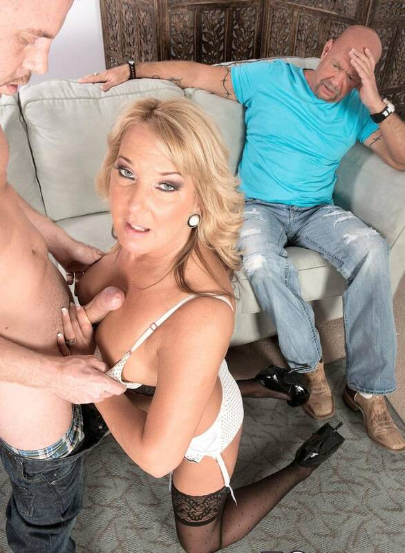 Porn Load - Mia Morgan - Mia fucks. Her hubby watches.  [HD 720p]