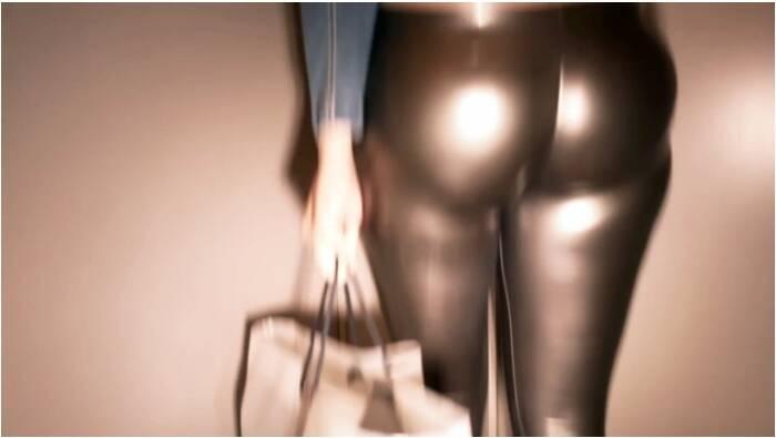 RedOptics.com - Amateur - Slinky silver legging  [SD 720]