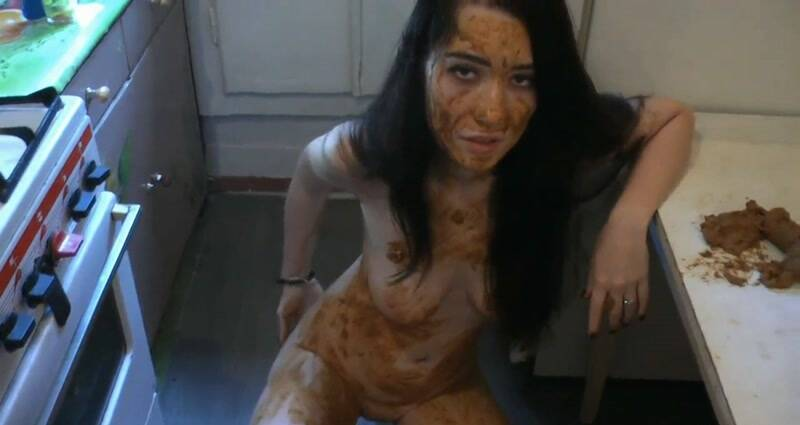 Rus Girl - Matilda's Kitchen and Bathroom Scat Destruction. Part 1 [FullHD] - Scat Porn