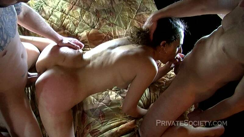 PrivateSociety.com: Sharon - Another Fantasy Granted - Group sex! [HD] (826 MB)