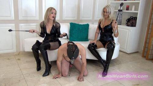 Beat Off Beating [FullHD, 1080p] [MiamiMeanGirls.com] - Femdom