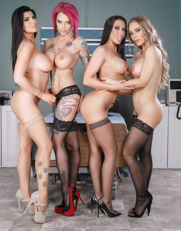 Doctor Porn - Anna Bell Peaks, Nicole Aniston, Rachel Starr, Romi Rain - The Last Dick On Earth  [HD 720p]