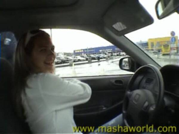 Masha - Masha and Marina Shopping (Amateur Porn) [SD, 288p]