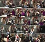 ClubStiletto.com - Mistresses Ariel, Bijou Steal and Sophia - Piggy's First Time - Part 4 (Femdom) [SD, 540p]