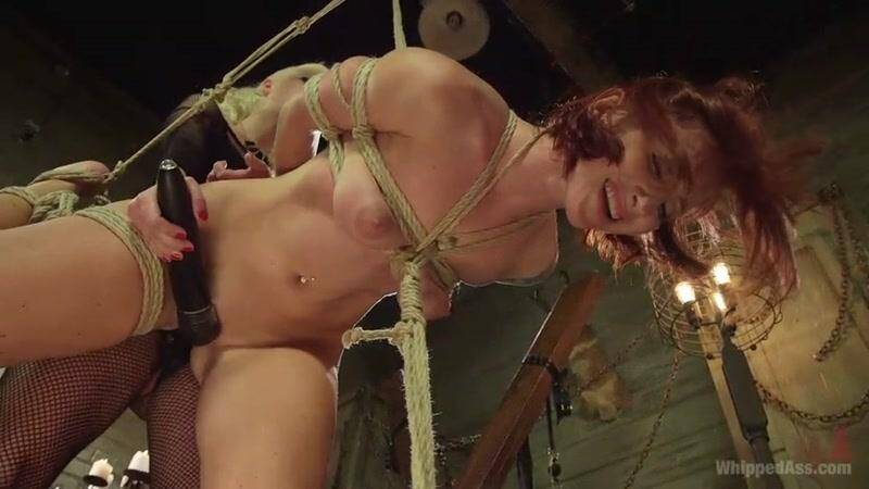 WhippedAss.com: Caged Redhead [SD] (673 MB)