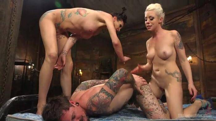 Trans Seduction - Lorelei Lee, Morgan Bailey and Ryan Patrix - Cocky Pl4yb0y Shamed & Dominated in Wild Two on One Threesome! (Shemale) [SD, 540p]