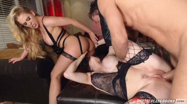 DigitalPlayground - Cherie Deville, Veronica Vain - Stag And Shag [SD 480p]