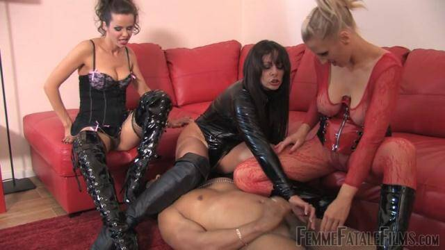 FemmeFataleFilms - Kicked to Cum [HD, 720p]