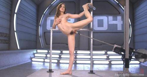 FuckingMachines.com [Kasey Warner - Flexible 19 Year Old Gets Machine Fucked] SD, 360p)