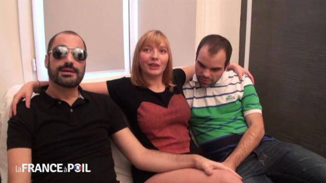 NudeInFRANCE, LaFRANCEaPoil - Pretty chubby Teen Stephanie, 18 yo, gets double teamed [HD, 720p]