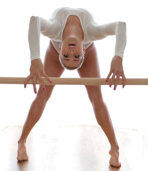 Ballerina Fucked - Christen Courtney [Brilliant Blowjob] (SD 540p)