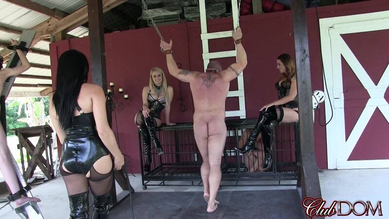 Natalya, Paris, & Michelle Whipping [FullHD] - ClubDom