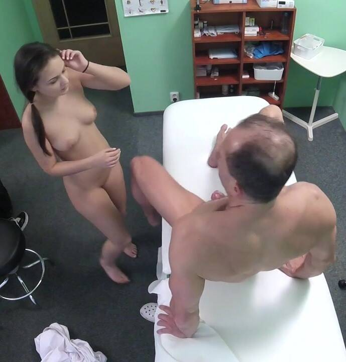 Hospital - Anina - Black haired student wants cock  [HD 720p]