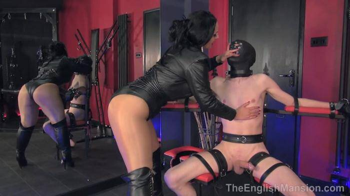 Eng Mansion - Restrained Edged Ruined (Femdom) [HD, 720p]
