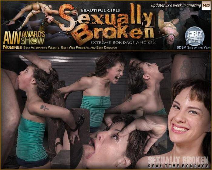 SexuallyBroken.com/RealTimeBondage.com - Deepthroat queen Devilynne does a live BaRS show bound to a sybian as she is facefucked by BCC! (BDSM) [SD, 360p]