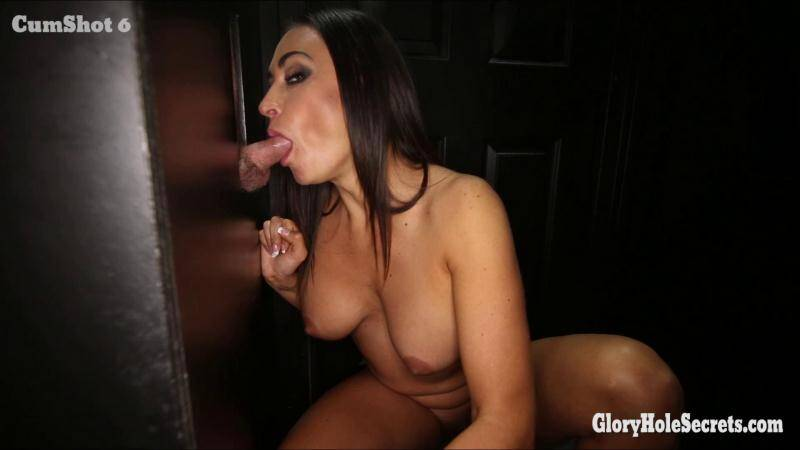 Claudia - First Glory Hole [FullHD] - GloryHoleSecrets