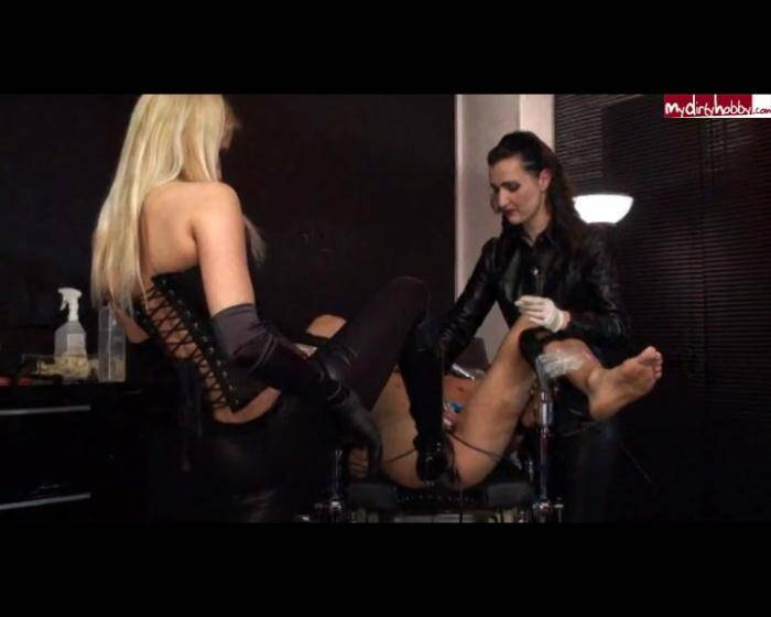 Crazy Dirty Sex: LadyNatalieBlack - Analspiele auf dem Gynstuhl Teil 2  [SD 576 82.1 MB]  (Germany)