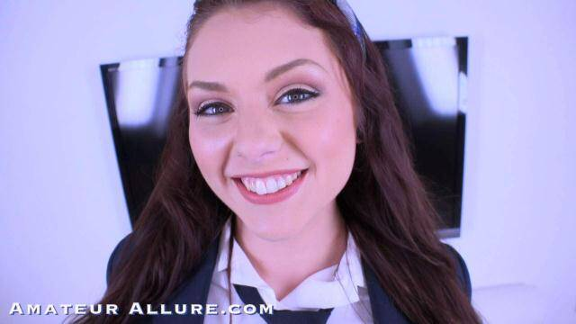 AmateurAllure - Teen Girl Megan Sage Loves Blowjob! [SD, 360p]