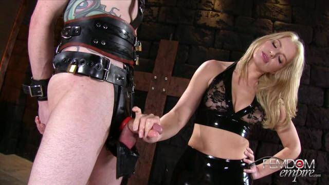 Domination - Rubber Chastity Release [FullHD, 1080p]