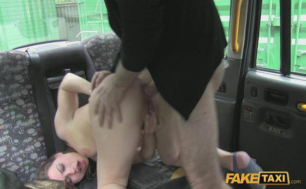 Fuck Taxi: Olga Cabaeva - Hard sex in Car - E138 (2016/SD)