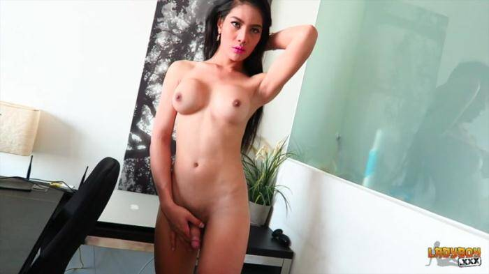 Ladyboy.xxx: Stunning Anna Strokes Her Sexy Cock (HD/720p/385 MB) 26.03.2016
