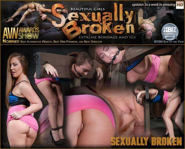 SexuallyBroken - Redheaded Maddy O'Reilly bound and drooling in strict bondage as she is dicked down by BBC! [SD, 360p]