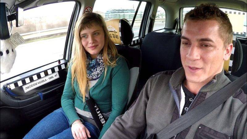 CZECH TAXI 33 - Sex in Car with Teen [FullHD] - Czechav, CzechTaxi