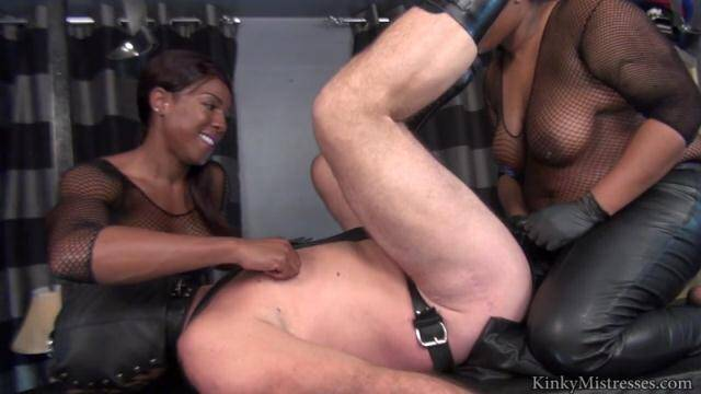 KinkyMistresses - Mistress Kiana And Mistress Andromeda - Take Our Strap-on's [HD, 720p]