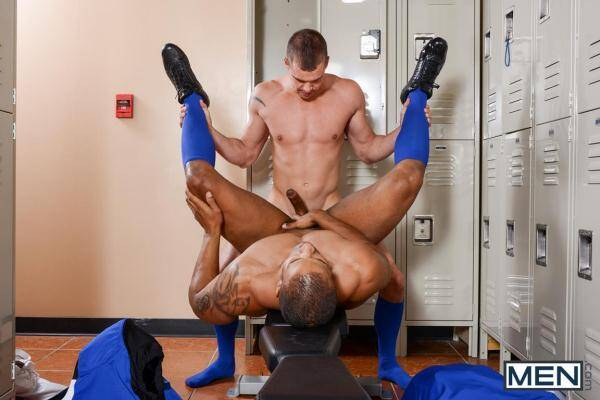 DrillMyHole.Com/Men.com: Football DL Part 2 - Darin Silvers, Robert Axel (2016/HD)