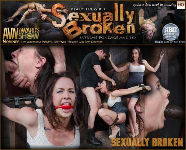 SexuallyBroken.com: Sexy Chanel Preston gets a orgasm and facefucking overload Sexuallybroken style in tight bondage! (2016/SD)
