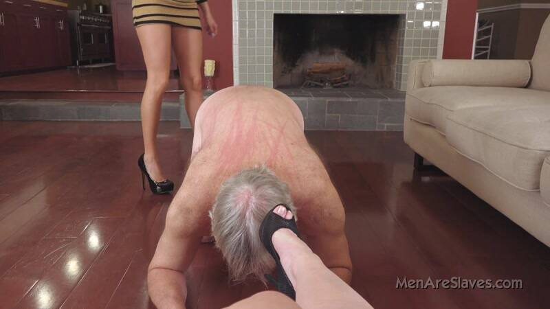 Young Mistress and Old Slave - Why Aren't You Mooing? [HD] - Menareslaves