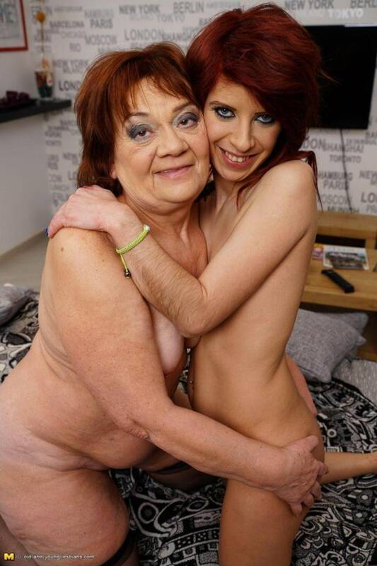 Mature.nl, old-and-young-lesbians - Dasha (60), Jemma K. (29) - Lesbi loves Sex! [SD, 540p]
