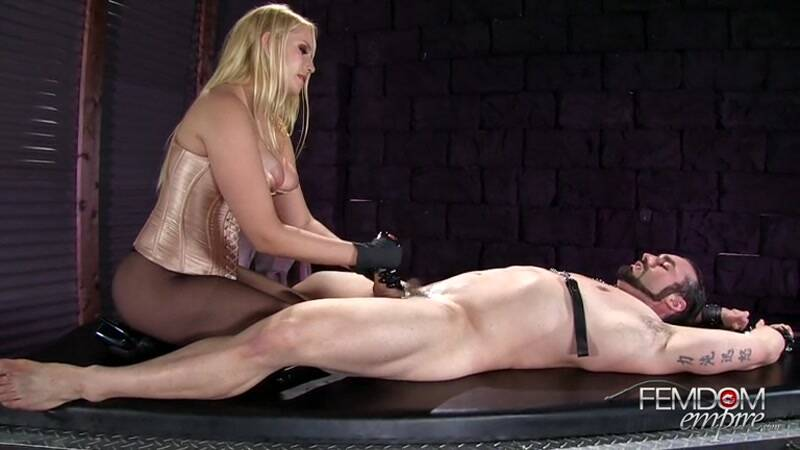 Female Domination: Prostate Wand Milking [SD] (98.0 MB)