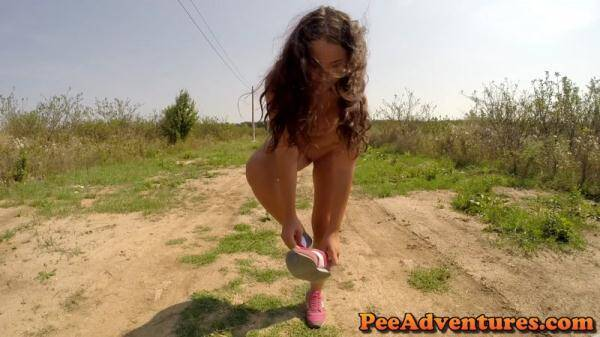 Striping and trying to pee (PeeAdventures.com) [FullHD, 1080p]
