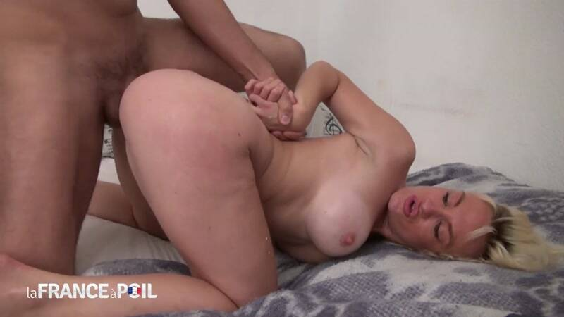 Horny big titted blonde cougar gets her ass pounded and creamed by her handyman [HD] - LaFRANCEaPoil, NudeInFRANCE
