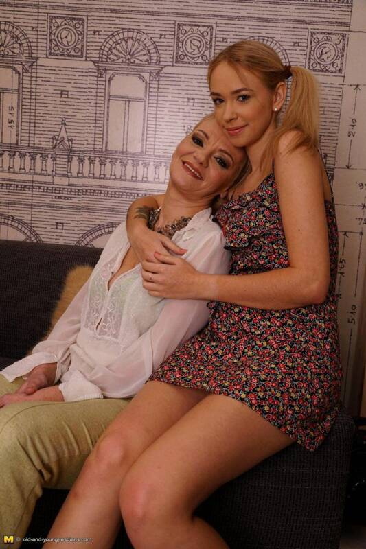 Rina M. (53), Kelsi (21) - Lesbians [SD] - Mature.nl, Old-and-young-lesbians