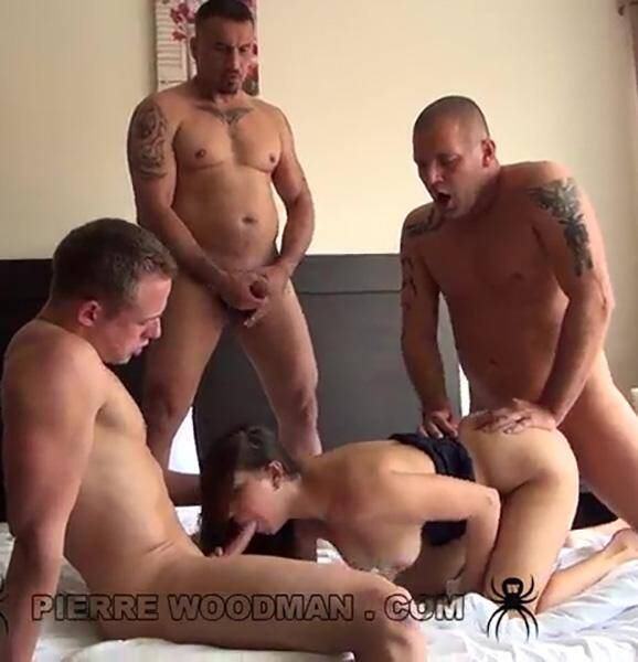 WoodmanCastingX - Jay Dee - Hard - In Bed With 3 Friends [SD 480p]