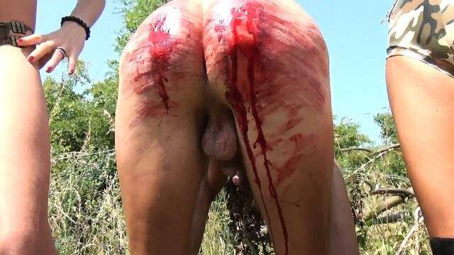 Domination with Blood - 400 stroke Judicial Bld Bath (Spanking) [HD, 720p]