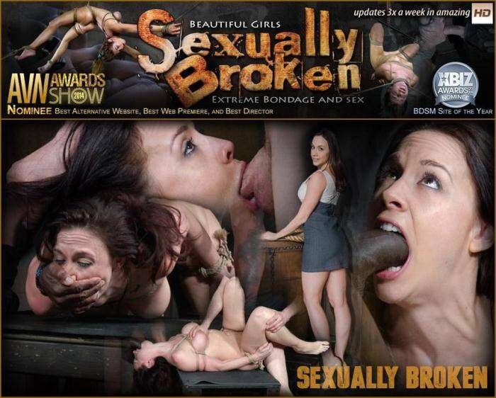 SexuallyBroken.com - Chanel Preston - Lush brunette Chanel Preston tightly tied in rope and roughly fucked, worked over by big dick! (BDSM) [HD, 720p]