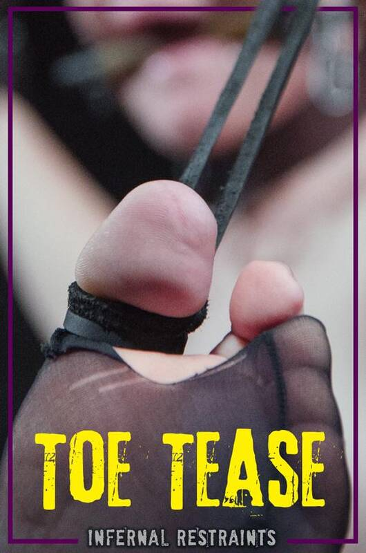 InfernalRestraints.com - Toe Tease - Barbary Rose (BDSM) [HD, 720p]