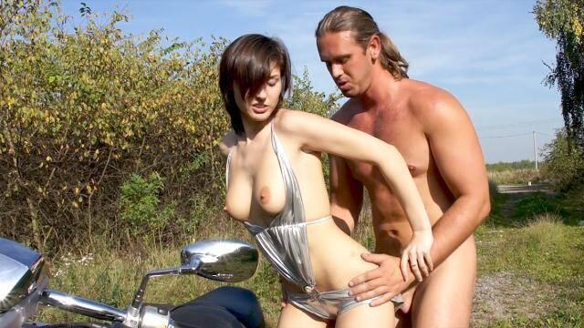 PublicFromBohemia, PornCZ - Silvia Palma - Athletic biker fucks sexy brunette Silvia [FullHD, 1080p]