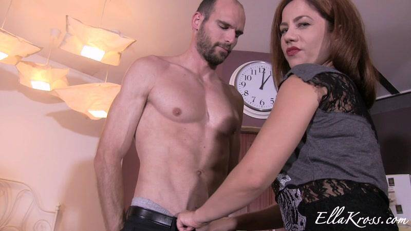 Ellakross.com: Ella Kross and Muscle slave! [FullHD] (239 MB)