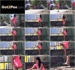 G2P - Gated - Outdoor Piss! [FullHD, 1080p]