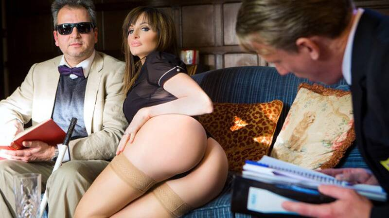 DigitalPlayground - Ava Courcelles - The Blind Professor [2016 SD]