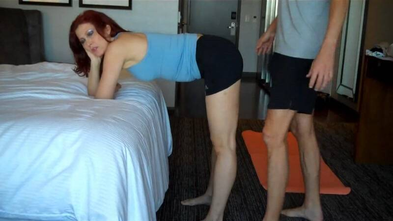 Mom's Fucking Yoga Lesson [HD] - Clips4Sale